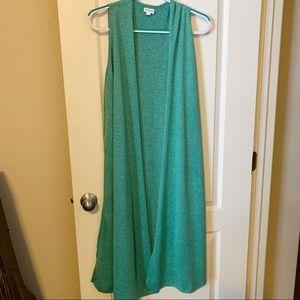 Lularoe Joy Vest Size S (491)